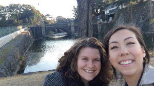 Charlotte and Maranda at the Imperial Palace