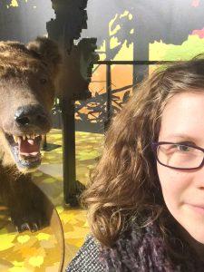 Charlotte vs. Bear at Hokkaido Museum
